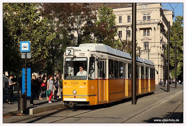 Tram Budapest - 2021-03