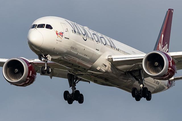 G-VBOW Virgin Atlantic B787-9 Dreamliner London Heathrow
