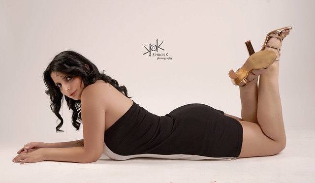 Alexia's portraits (on the floor), by SpirosK photography