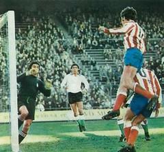 Temporada 1977/78: Atlético de Madrid 3 – Racing de Santander 0