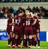 England celebrate Rachel Daly's goal