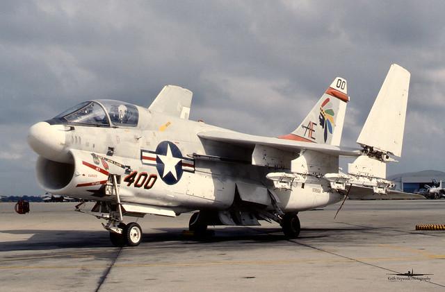 159968 'AE400' A-7E VA-87 USN