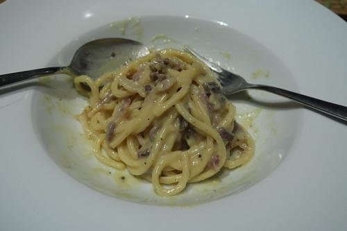 Spaghetti alla carbonara (Nachschlag)