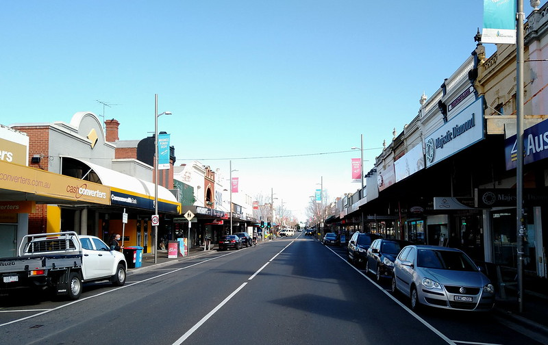 View from Puckle Street, Moonee Ponds