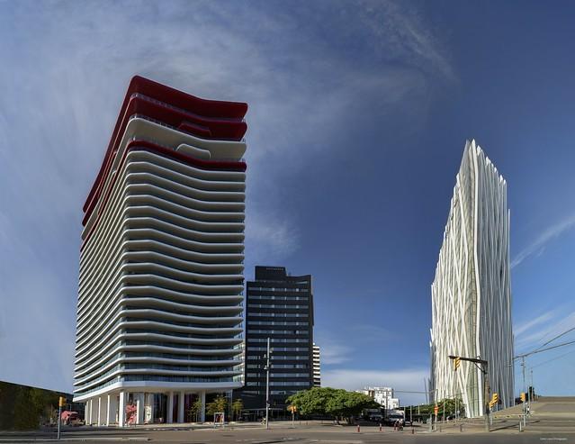 Diagonal Zero (Antares Tower / Telefónica Building)
