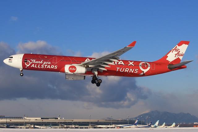Air Asia X 9M-XXA