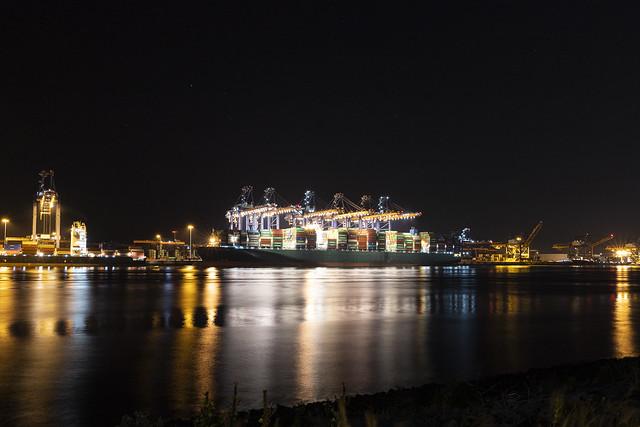 Thalassa Avra in Rotterdam Harbour