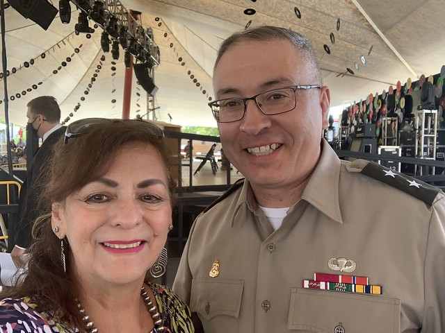 Councilor Borrego - NM Military and Veterans Day at State Fair