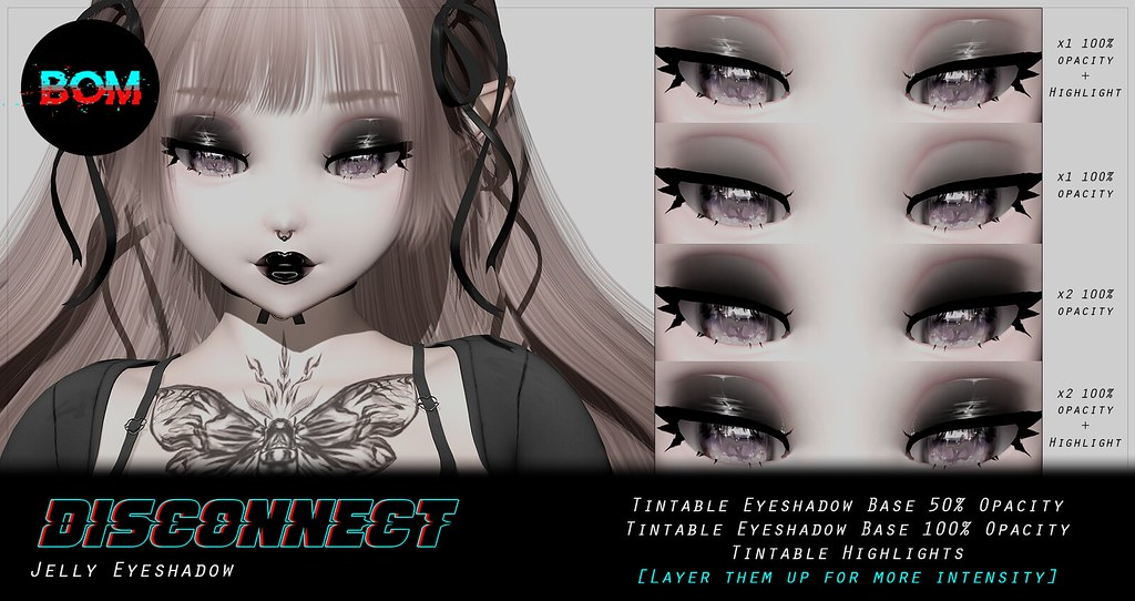 -Disconnect. Jelly Eyeshadow [ BoM M4 AnnieMay]