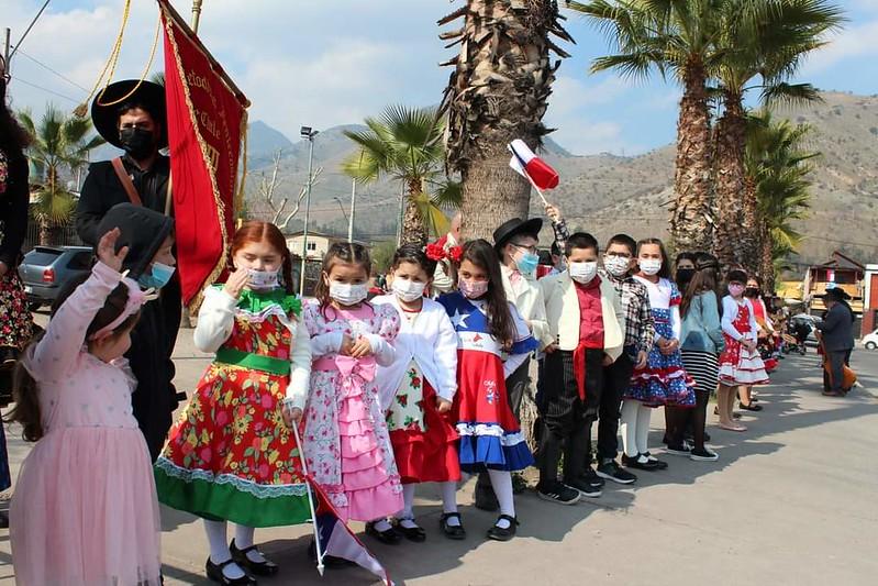 Desfiles y Servicio Acción de Gracias, IMPCH Recoleta Oriente