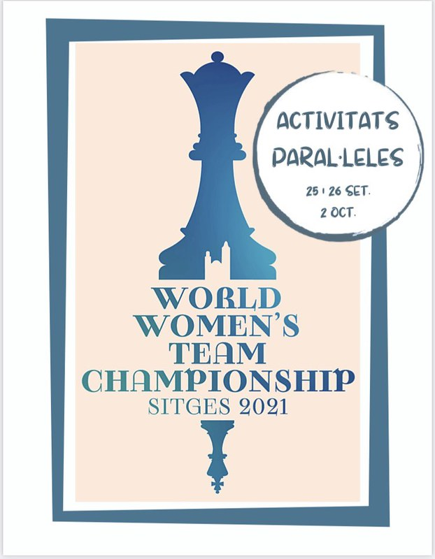 Simultáneas con las reinas del ajedrez. Juega con la selección española