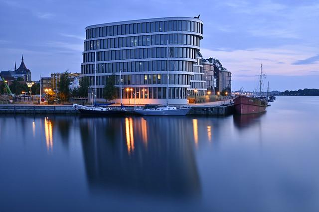 Blue Hour - Rostock Harbor GER