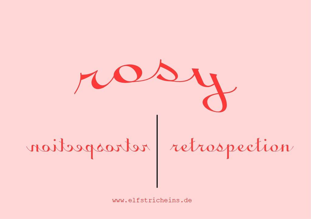 rosy retrospection