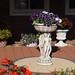 Volendam : terrasse fleurie
