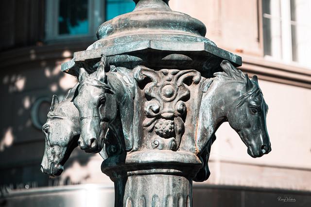 Alter Trinkbrunnen am Kornmarkt