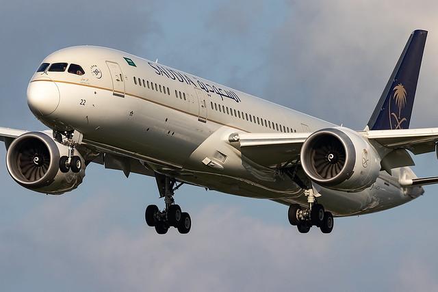 HZ-AR22 Saudi Arabian B787-9 Dreamliner London Heathrow