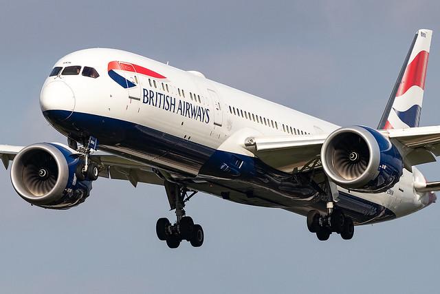 G-ZBKN British AIrways B787-9 Dreamliner London Heathrow Airport