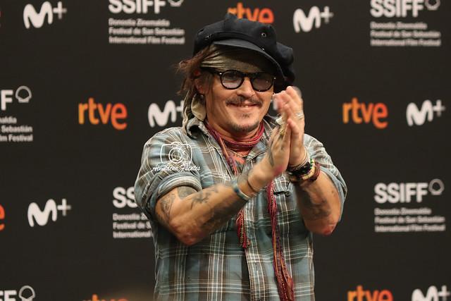 Johnny Depp . Premio Donosti 2021
