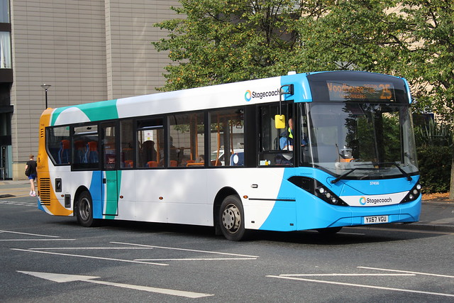 Stagecoach ADL Enviro 200 MMC 37456 YX67 VGU