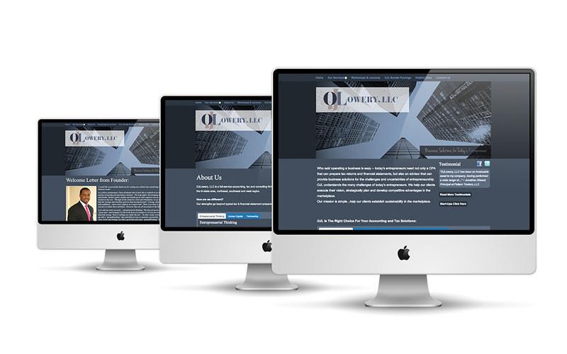 OJ Lowery New Site Look