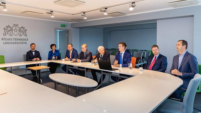 Eiropas Padomes Attīstības bankas prezidents iepazīsies ar RTU studentu pilsētiņas infrastruktūras projektiem