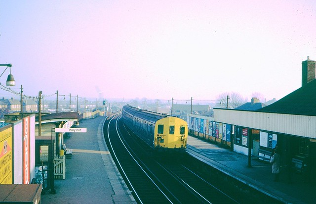 Welling station in 1972