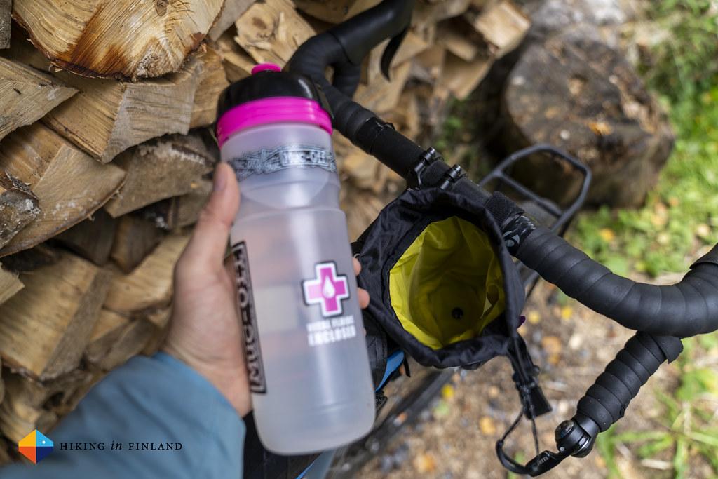 Revelate Designs Mountain Feedbag + Waterbottle