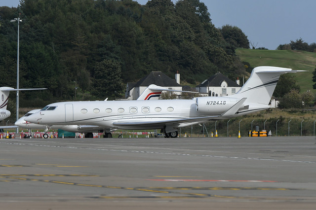 N724AG Gulfstream 650 EGPH 21-09-21