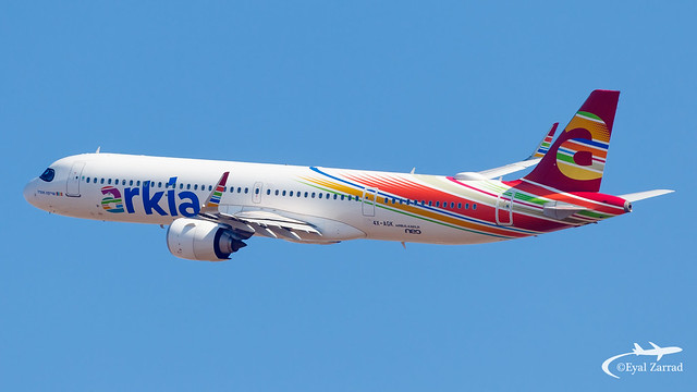 TLV - Arkia Airlines Airbus A321LR 4X-AGK