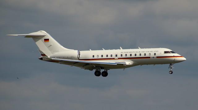 GAF German Air Force  14+03,MSN 9411,Bombardier BD-700-1A11 Global 5000,19.09.2021,CGN-EDDK, Köln-Bonn