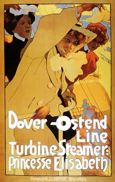 Dover - Ostend Line - 1900c