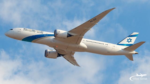 TLV - El Al Boeing 787-9 4X-EDI
