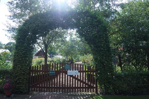 Zugang zum Bauerngarten Rühle