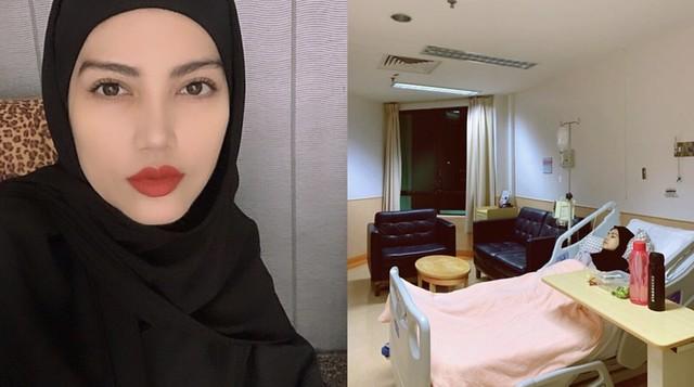 Elyana Terpaksa Ditahan Di Hospital Selepas Lebih Sebulan Menahan Sakit