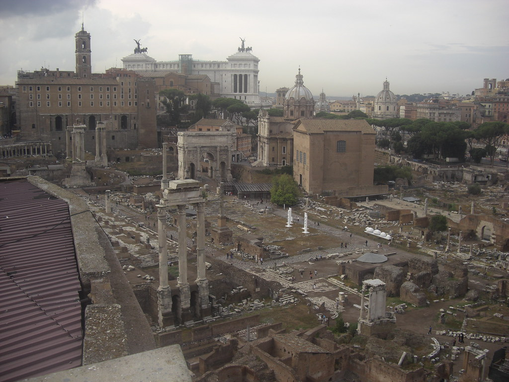 Overview of the Forum Romanum