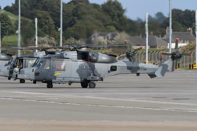 ZZ399 Agusta Westland Wildcat AH.1 EGPH 21-09-21