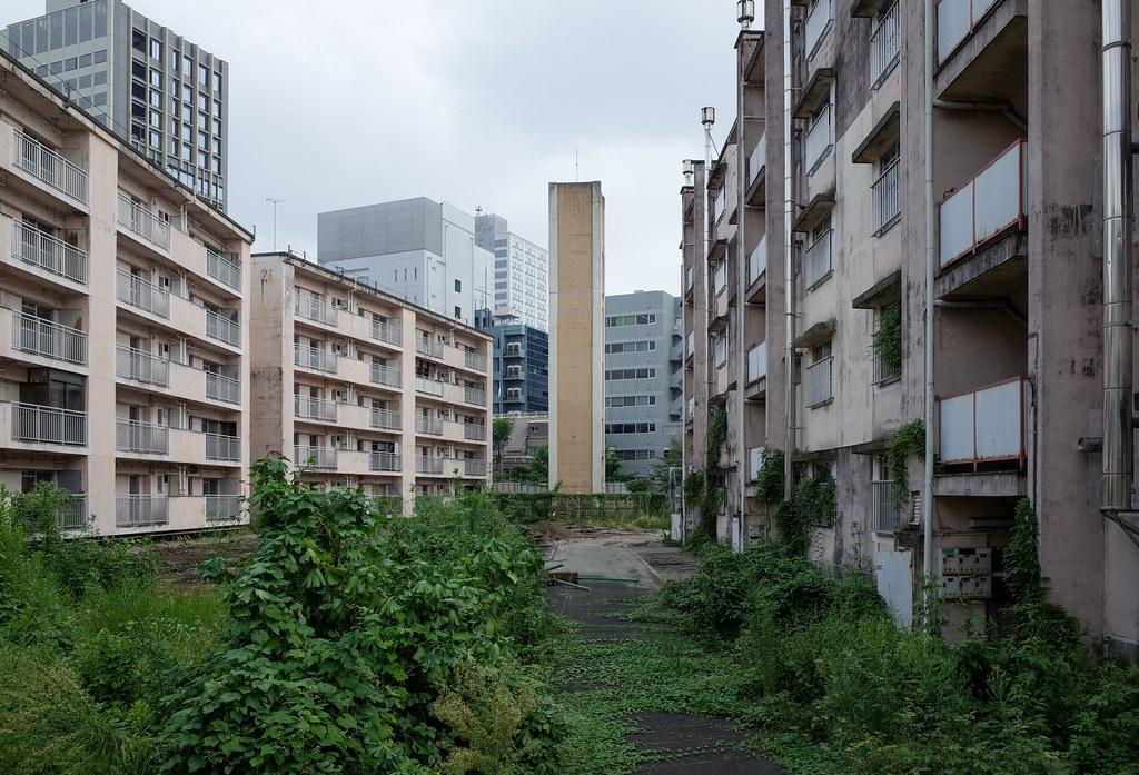 建て替え予定の青山北町アパート