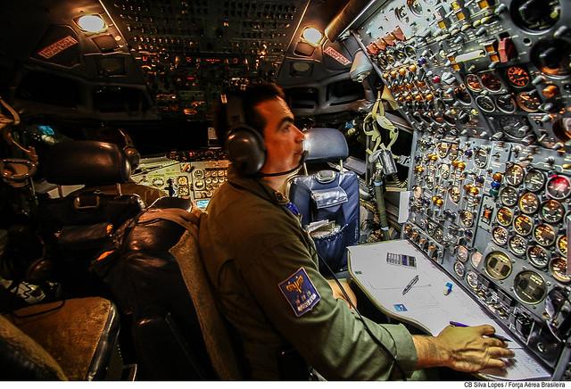 Cabine do KC-137