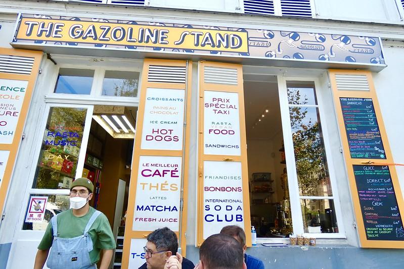 The Gazoline Stand, Paris. Photo : JasonW
