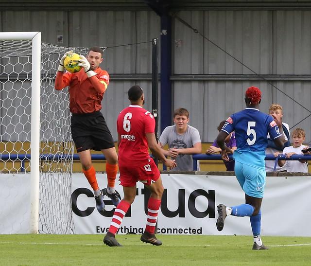 Wingate & Finchley 3 vs Baldock Town 0 (FA Cup 2021/22)