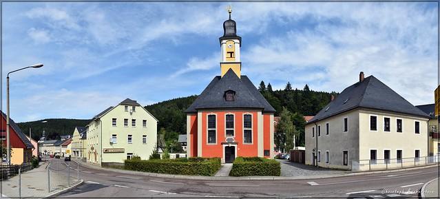 Kirche Zur Heiligen Dreieinigkeit in Schmiedeberg im Osterzgebirge