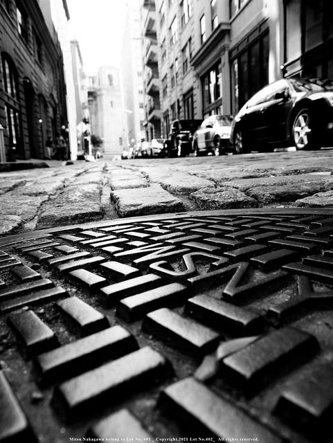 Manhole.