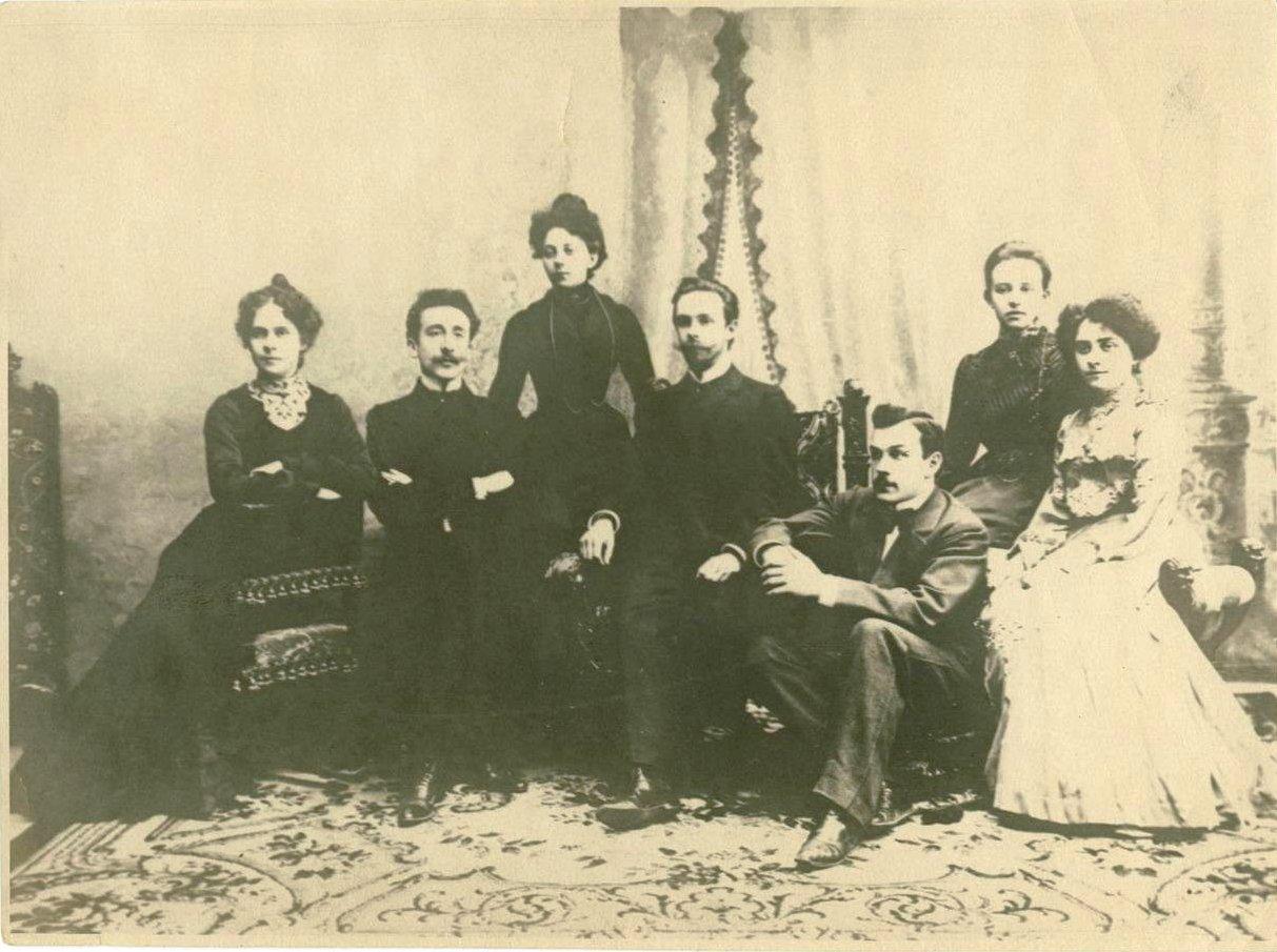 1902. А.Н. Скрябин с учениками