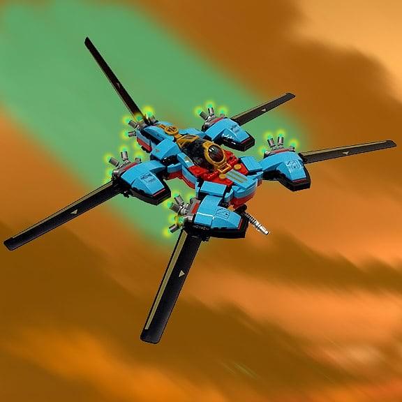 Griggs Industries L-12 'Hornet' Fightercraft