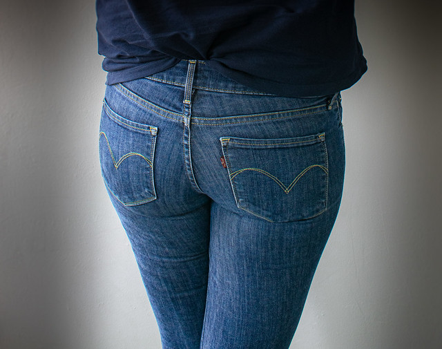 Me in Tight Levis Jeans