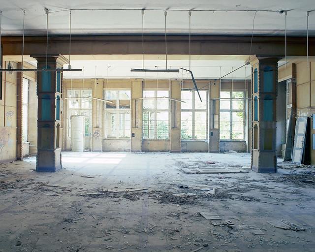 columned hall V