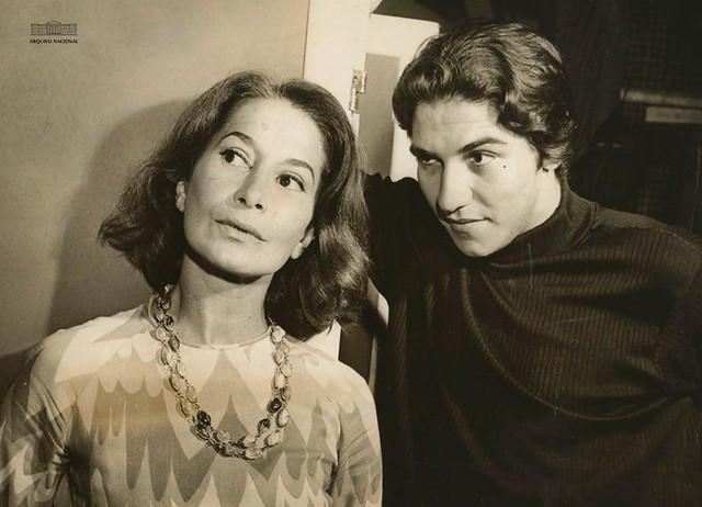 Cleyde Yáconis e Claudio Cavalcanti, 1968