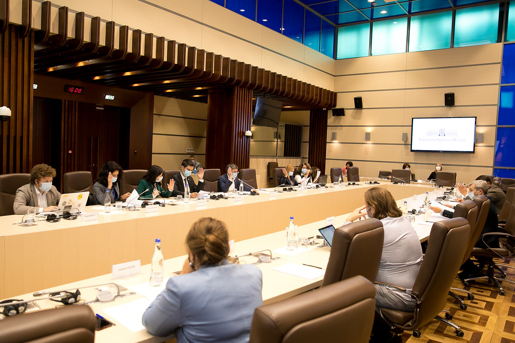 22.09.2021- Ședința Biroului permanent al Parlamentului
