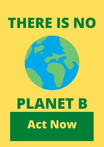 Linking Human Rights and Climate Change: There is no planet B
