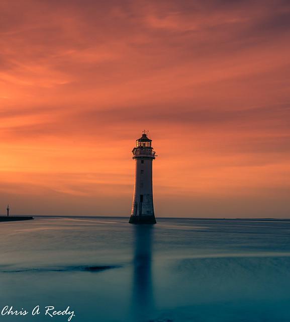 Perch Rock Sunset - AGAIN